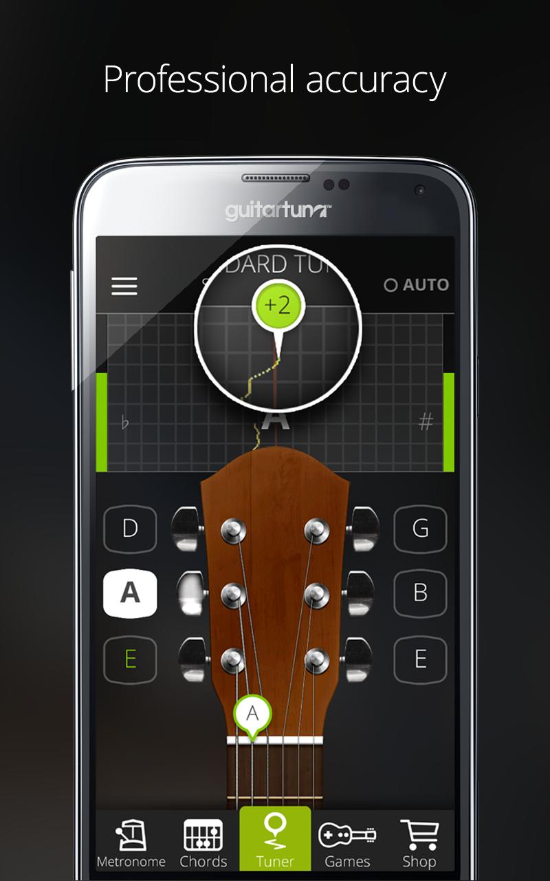 Afinador de guitarras y bajo - Guitar Tuna - The Ultimate Free ...