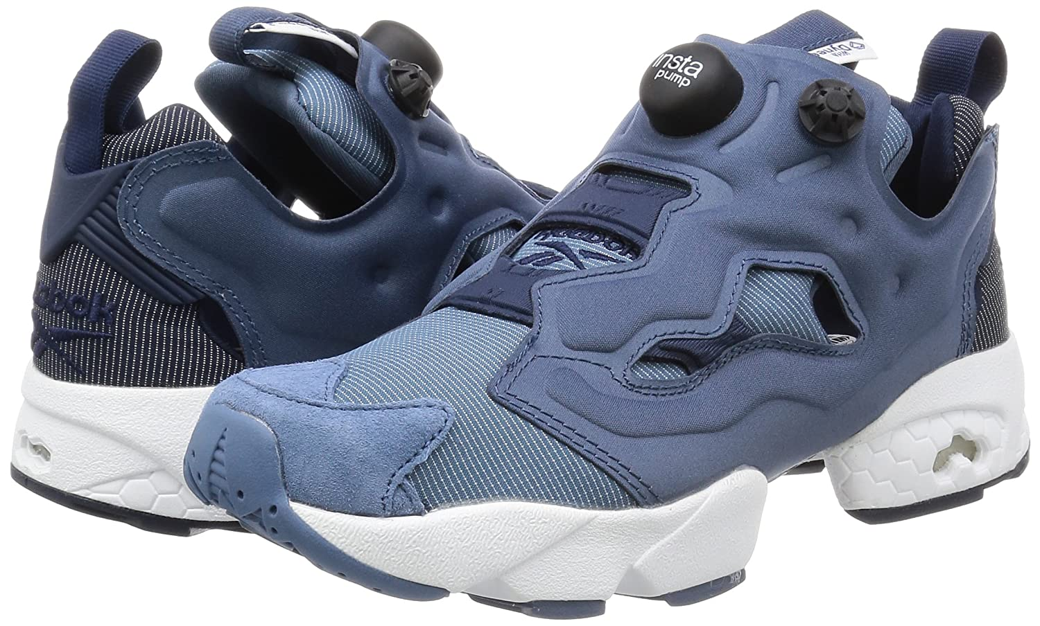 12427d9c46c9 Reebok Men s Classic Instapump Fury Tech Sneaker Blue Ar0624 Royal Slate  Navy Blue Aq0624 5.5 UK  Buy Online at Low Prices in India - Amazon.in