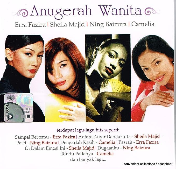 Anugerah wanita terdapat lagu-lagu hits seperti. (cd2004.