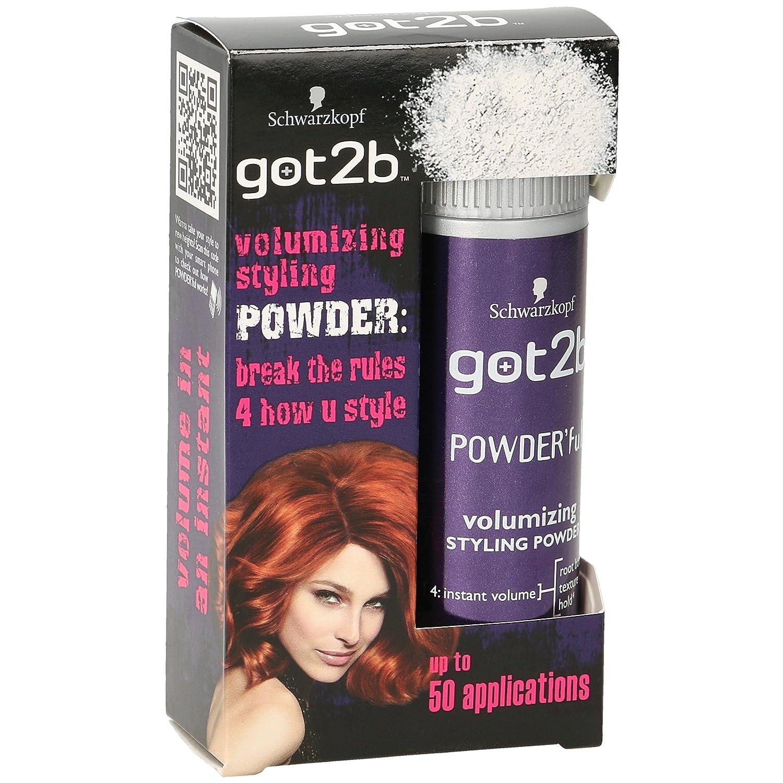 SCHWARZKOPF GOT2B POWERFUL VOLUME STYLING POWDER FOR FULL HAIR STYLE 10g 425183