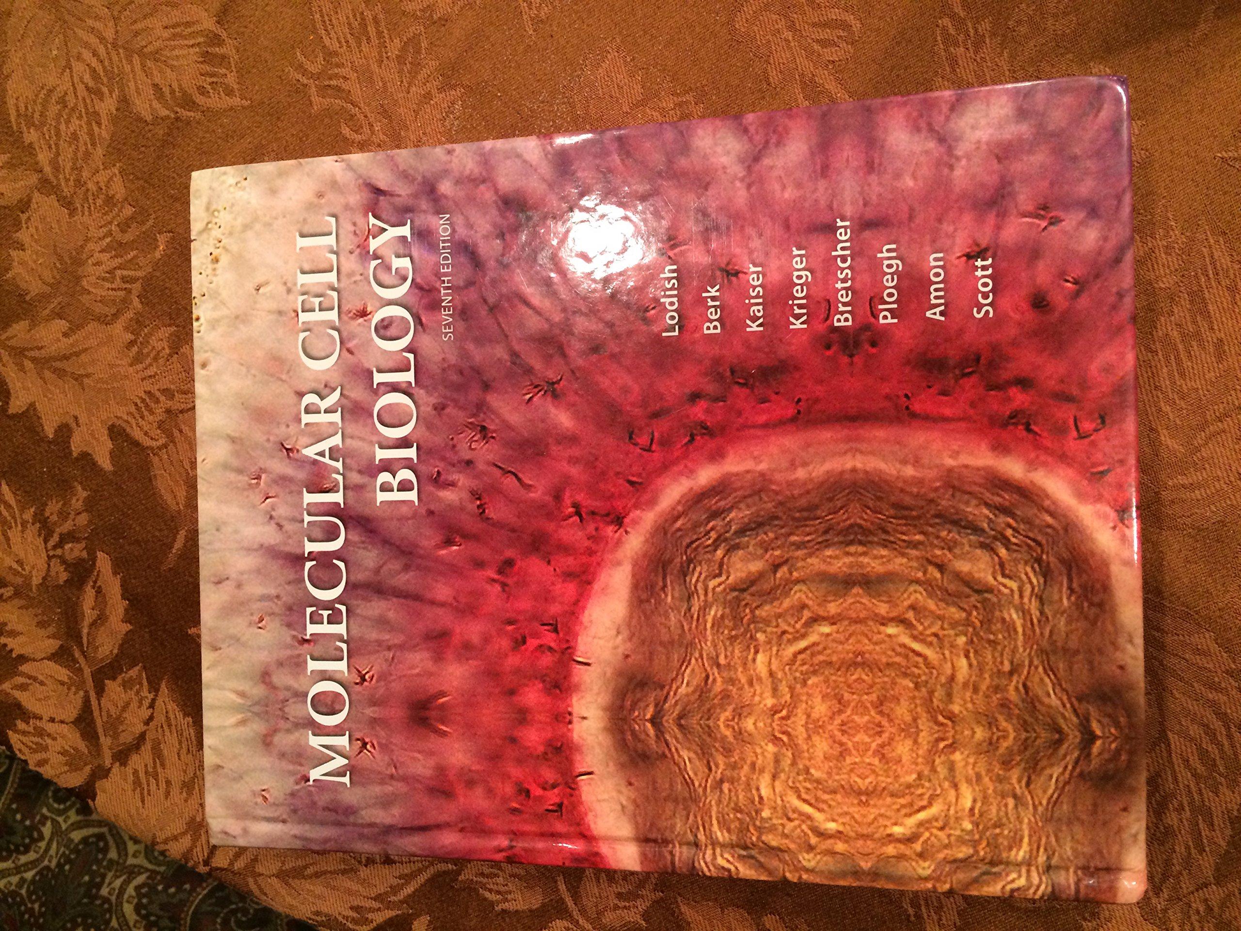 Molecular Cell Biology Lodish 7th Edition Ebook