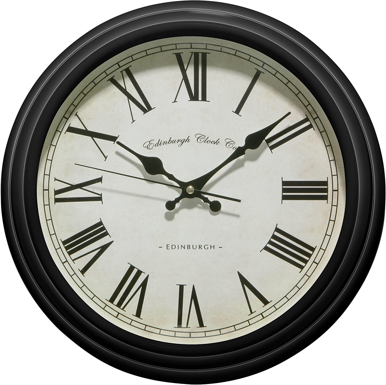 Premier Housewares Wall Clocks Clocks For Kitchen Living Room Office Clock Wall Clock Kitchen Wall Clock Living Room 33 5 Cm X 33 5 Cm X 8 Cm Amazon Co Uk Kitchen Home