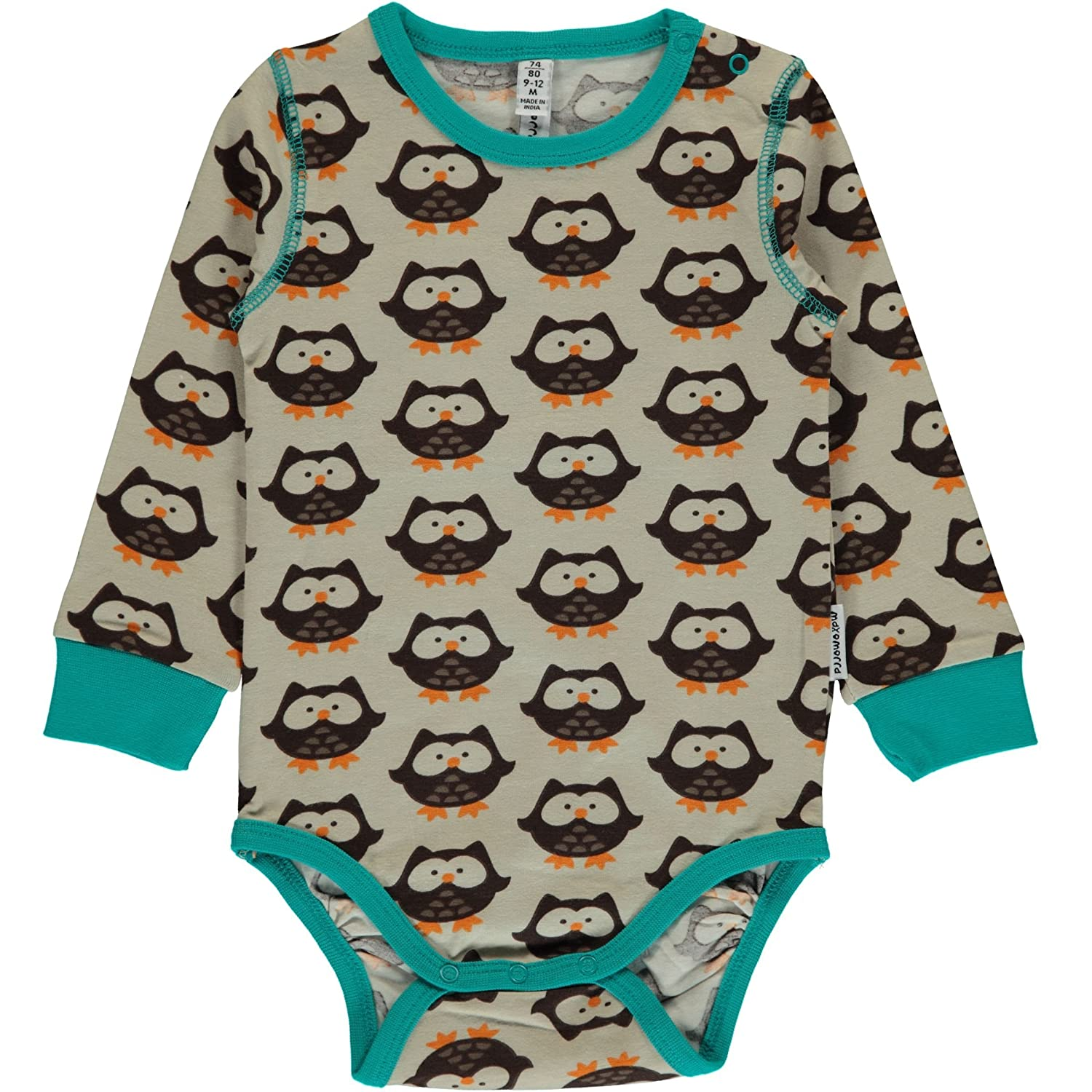 Maxomorra Long Sleeved Body Vest - Owl