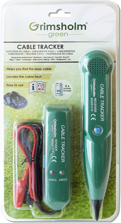 Grimsholm Green® - Detector de cables para cortacésped.