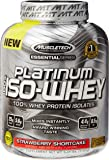 MuscleTech Platinum 100% ISO Whey Supplement, Vanilla Ice Cream, 3.27 Pound