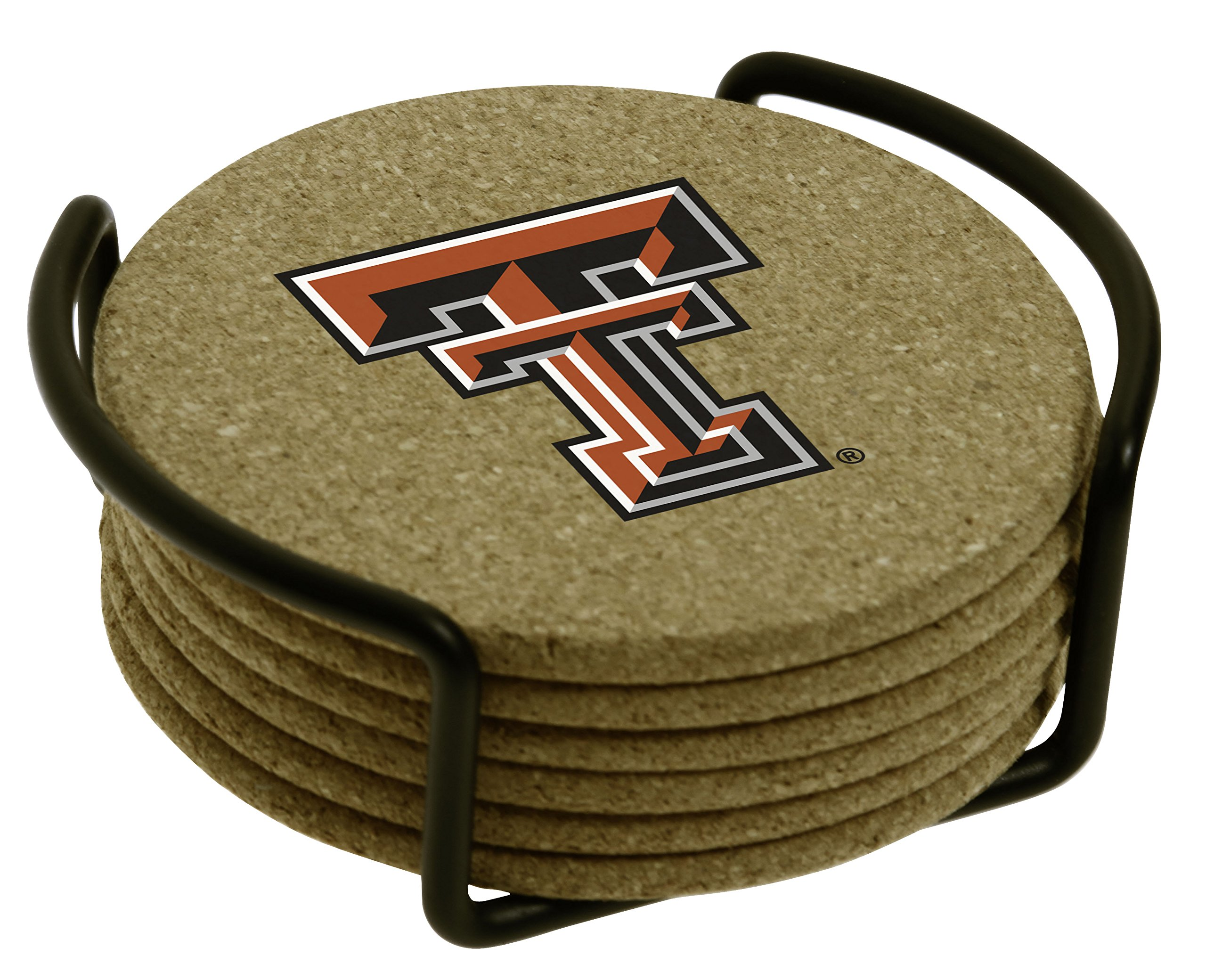 Thirstystone Texas Tech University with Holder Included Cork Gift Set