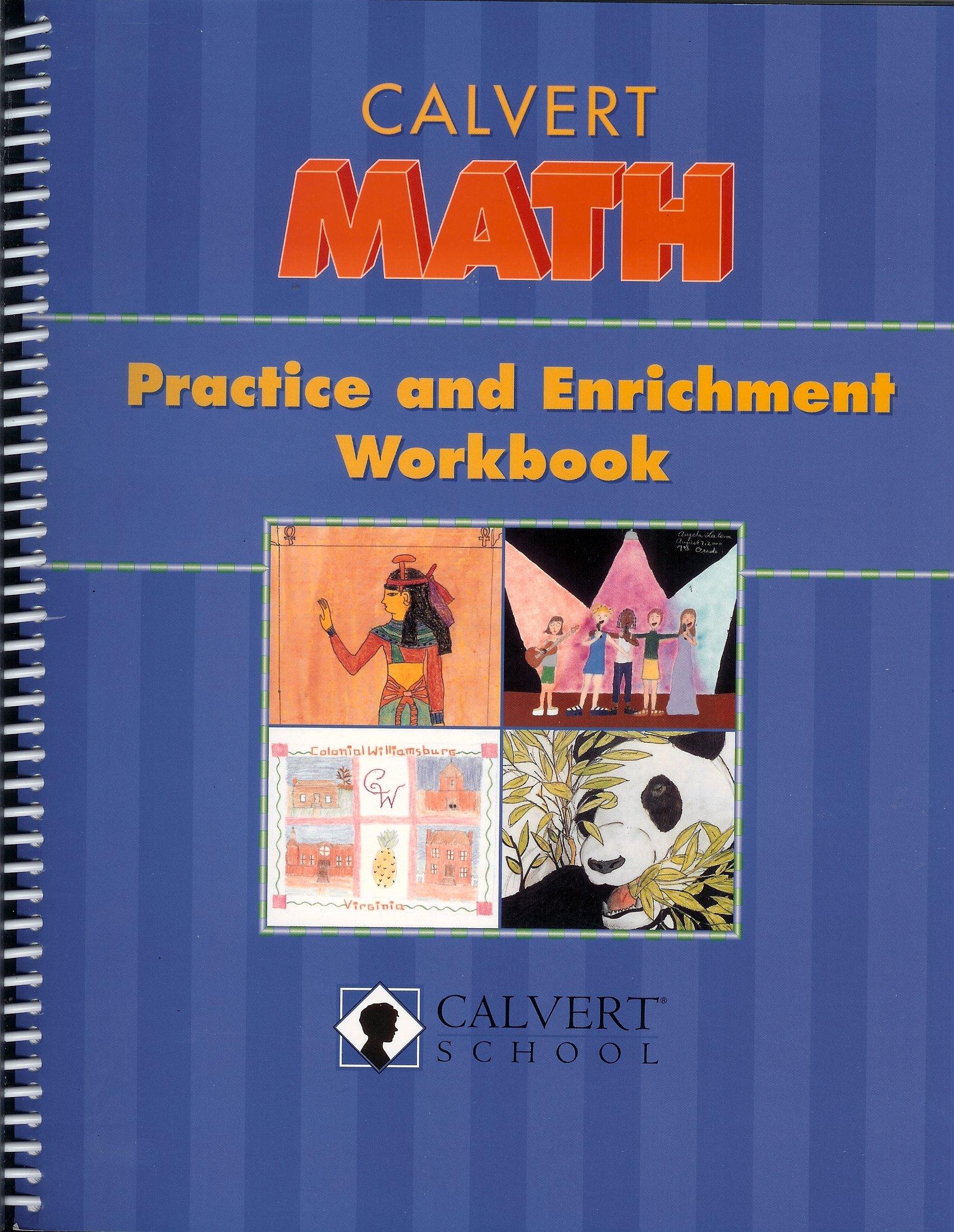 Calvert Math Practice and Enrichment Workbook (7th grade) (Calvert Math, 7th Grade) pdf
