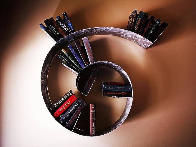 Floating Spiral Bookshelf Small