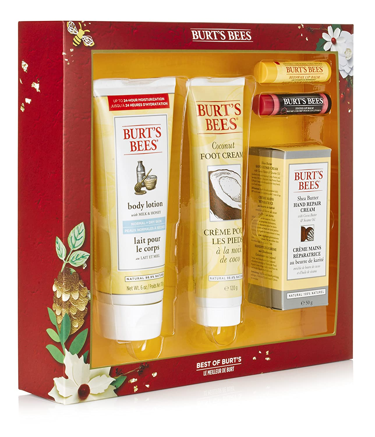 Burt's Bees Best of Burt's Gift Set Cbee Europe Ltd 21246-14