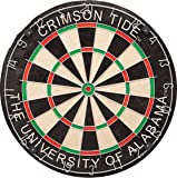 Imperial Officially Licensed NCAA Merchandise: Dart Cabinet Set with Steel Tip Bristle Dartboard, Alabama Crimson Tide