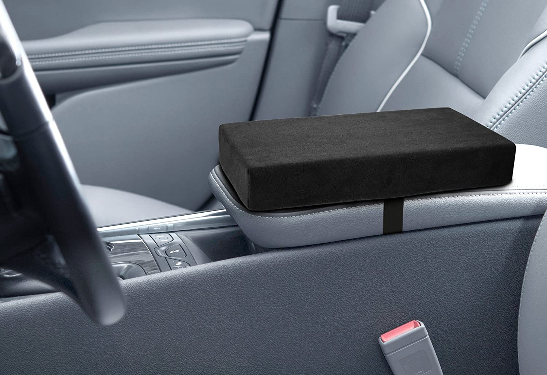 Kovot Auto Armrest Console Cushion - Memory Foam Arm Rest Support