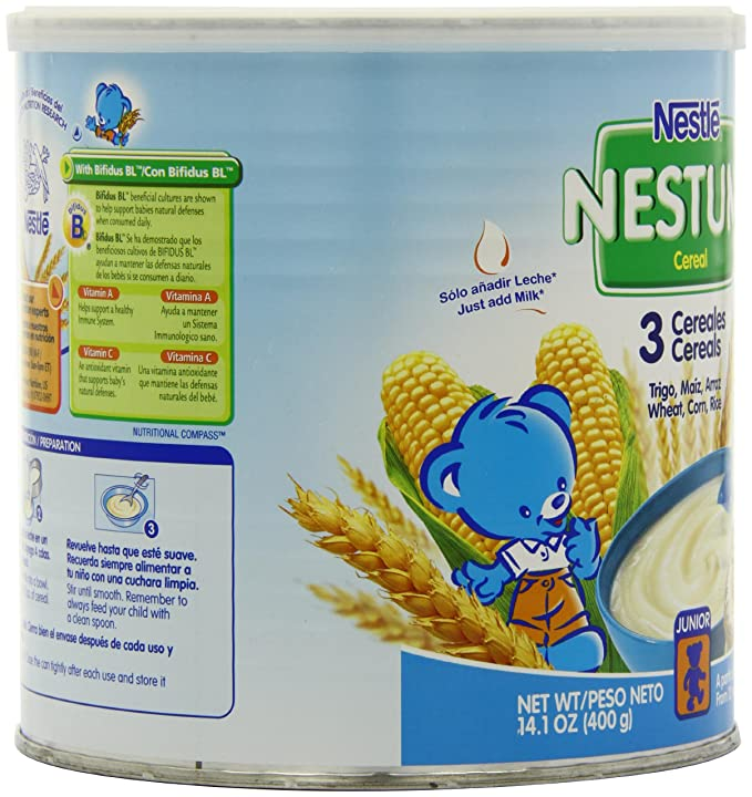 Amazon.com: Nestle Nestum 3 Cereals, 14.1-Ounce (Pack of 6): Sports ...