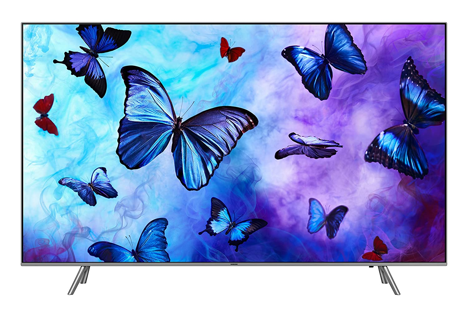 "Samsung QN55Q6F Flat 55"" QLED 4K Ultra HD Smart TV (2018), Eclipse Silver [CA Version] Samsung Home Entertainment QN55Q6FNAFXZC"