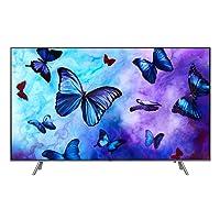 """Samsung QN49Q6F Flat 49"""" QLED 4K Ultra HD Smart TV (2018), Eclipse Silver [CA Version]"""