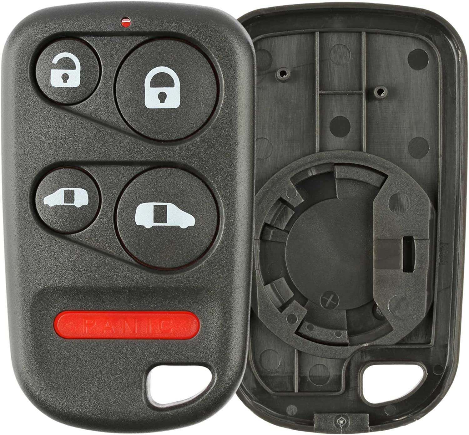 KeylessOption Just The Case Keyless Entry Remote Key Fob Shell for 16245100-29