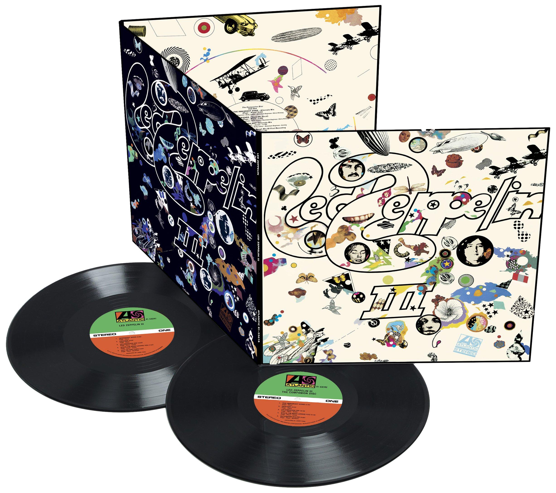 Vinilo : Led Zeppelin - Led Zeppelin 3 (180 Gram Vinyl, Deluxe Edition, Remastered, 2 Disc)