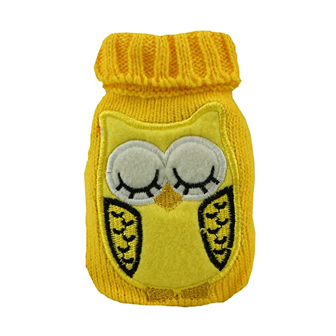 Calentador de manos/bolsillo Sleepy Owl Yellow: Amazon.es: Deportes y aire libre