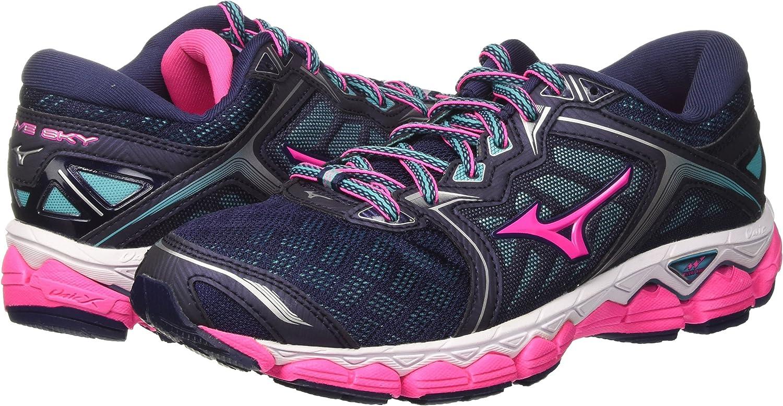 Mizuno Wave Sky Wos, Zapatillas de Running para Mujer: Amazon.es: Zapatos y complementos
