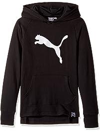 PUMA Girls Girls' Cat Hoodie Hooded Sweatshirt