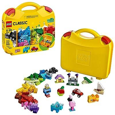 LEGO Classic Creative Suitcase 10713 Building Kit (213 Pieces): Toys & Games