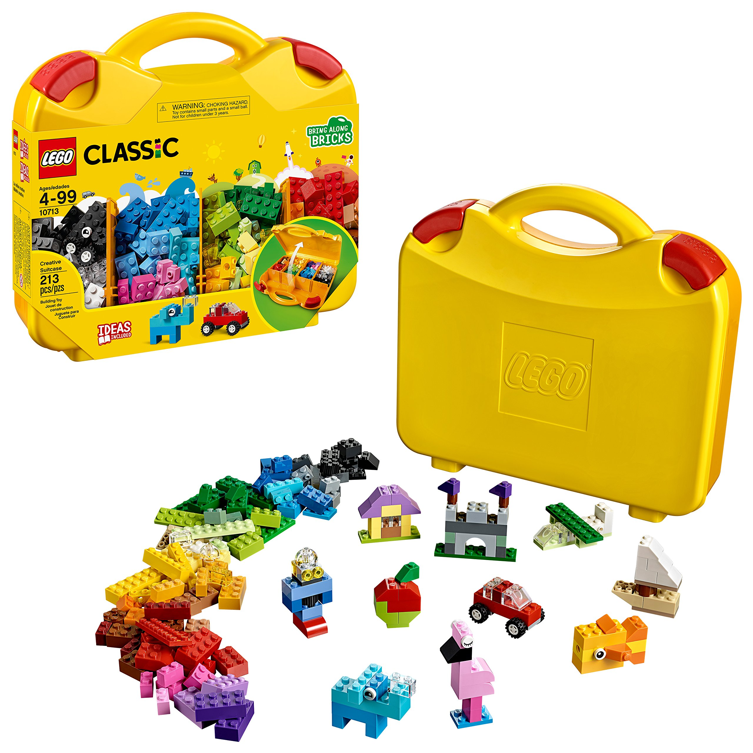 LEGO Classic Creative Suitcase 10713 Building Kit (213 Pieces) by LEGO