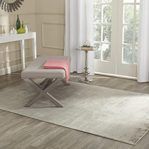 Safavieh Mirage Collection 4 x 6 Viscose Rugs, Silver