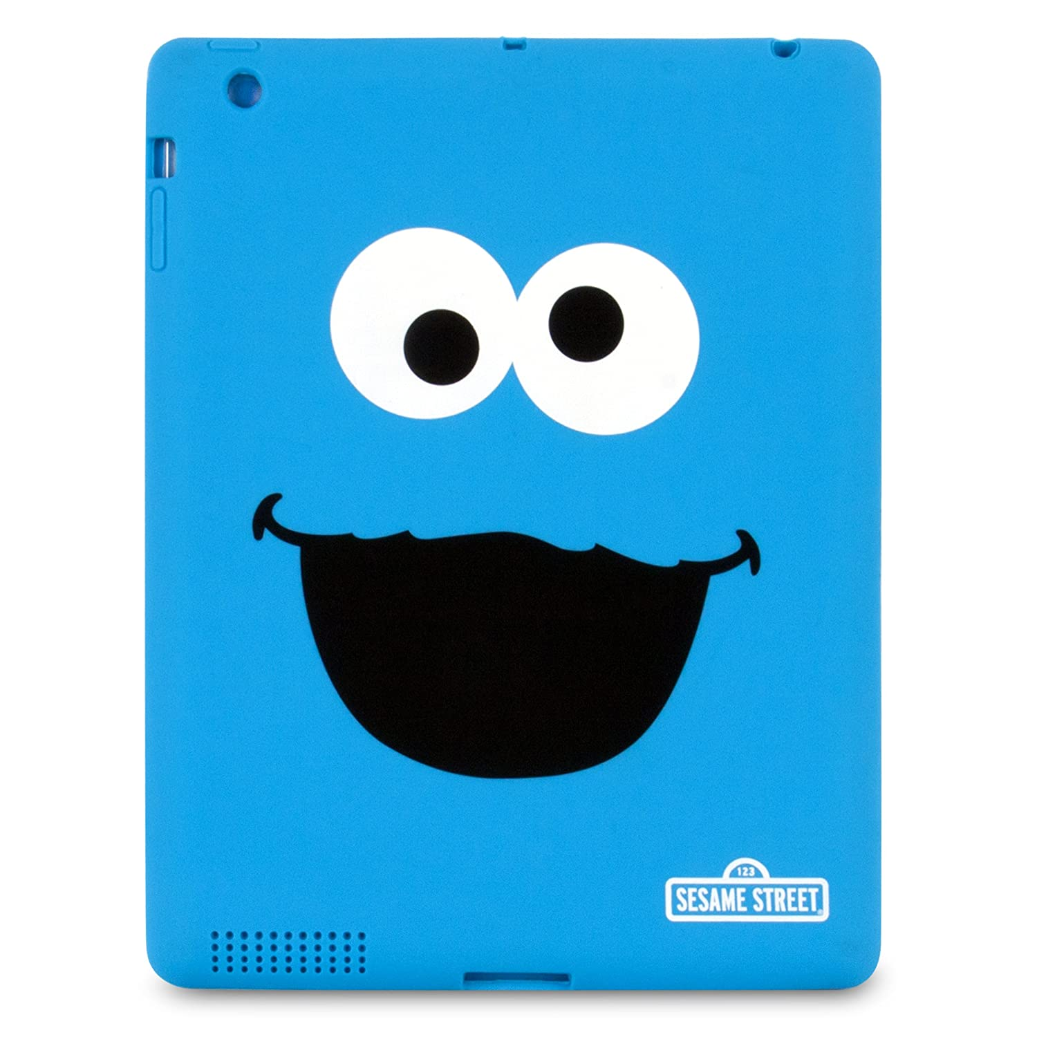 Amazon ISound Sesame Street Cookie Monster TPU Case For IPad 2 And 3rd 4th Generation Computers Accessories