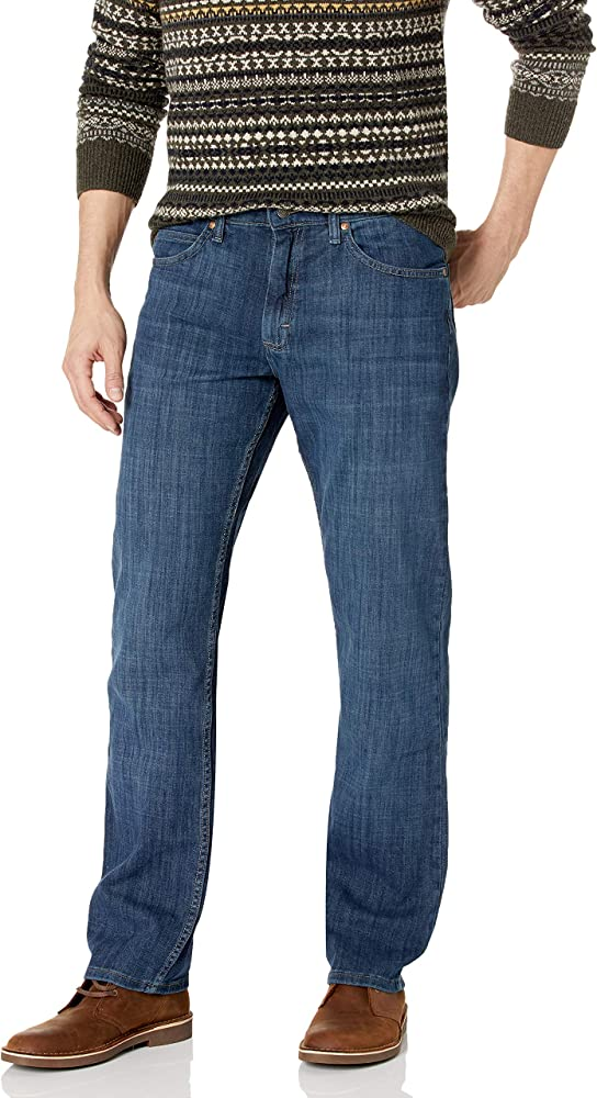Lee Herren Jeans Regular Fit Straight Leg Blau 33W 32L