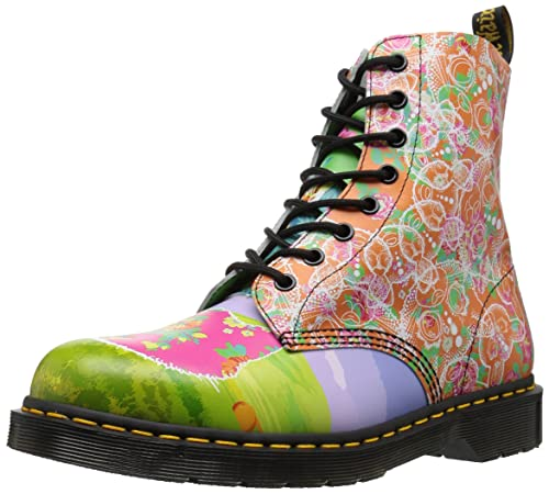 82cc9a6c705 Dr. Martens Women's Pascal Daze in Backhand Leather Fashion Boot