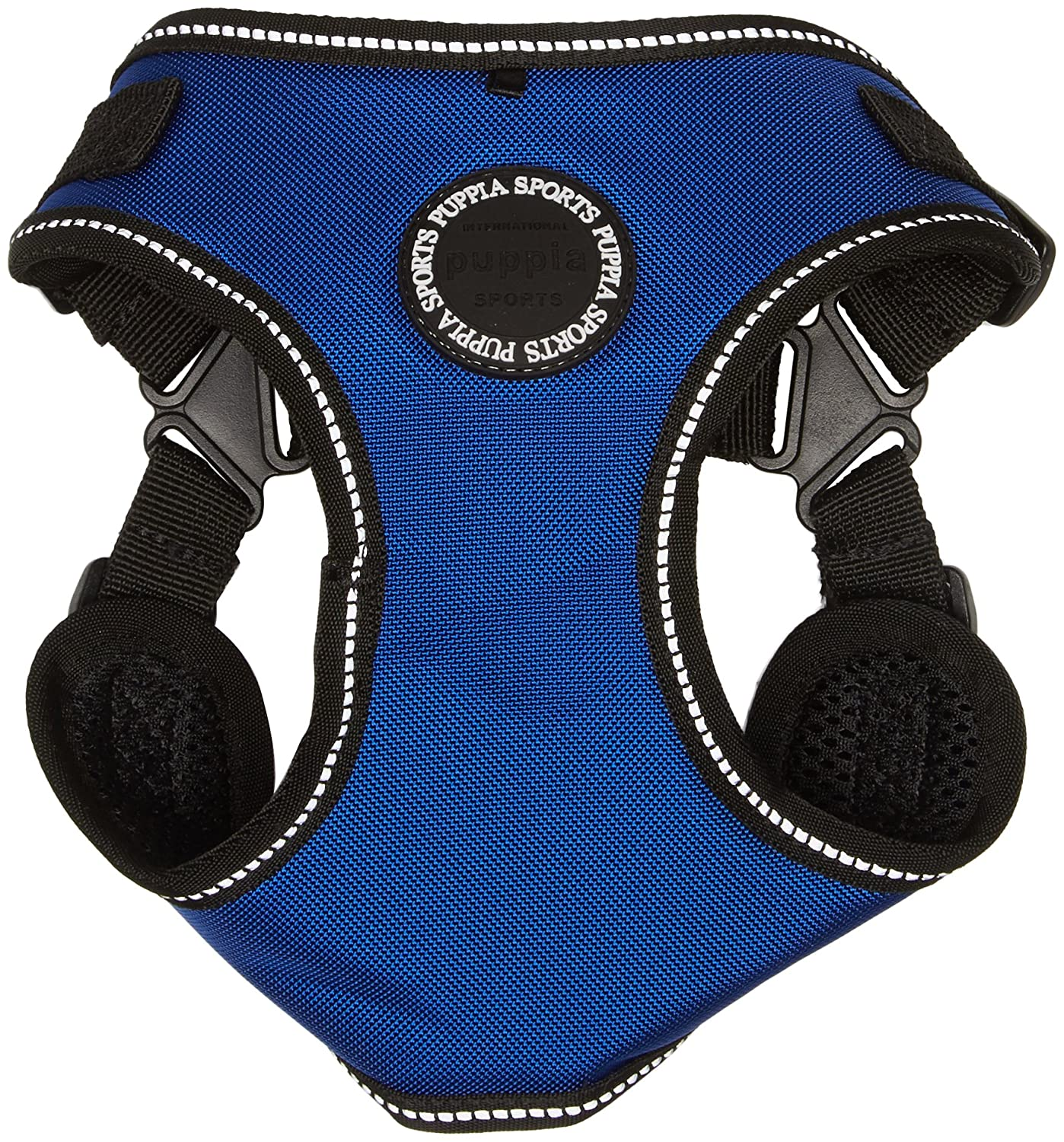 Puppia PLRA-HC9323-RB-L Royal bluee Trek Harness C Pet-Vest-Harnesses, Large