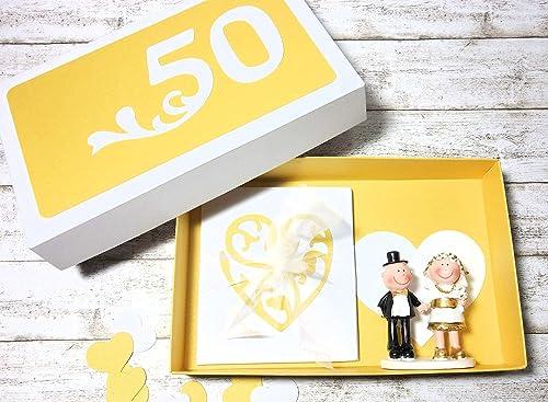Geldgeschenk Geschenk Verpackung Zur Goldenen Hochzeit