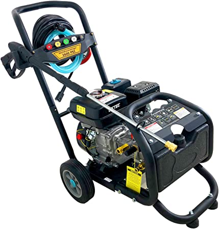 Gasolina limpiador de alta presión/Foco de vapor con 180 Bar - 2500 PSI/7 PS, incluye 5 boquillas: Amazon.es: Bricolaje y herramientas