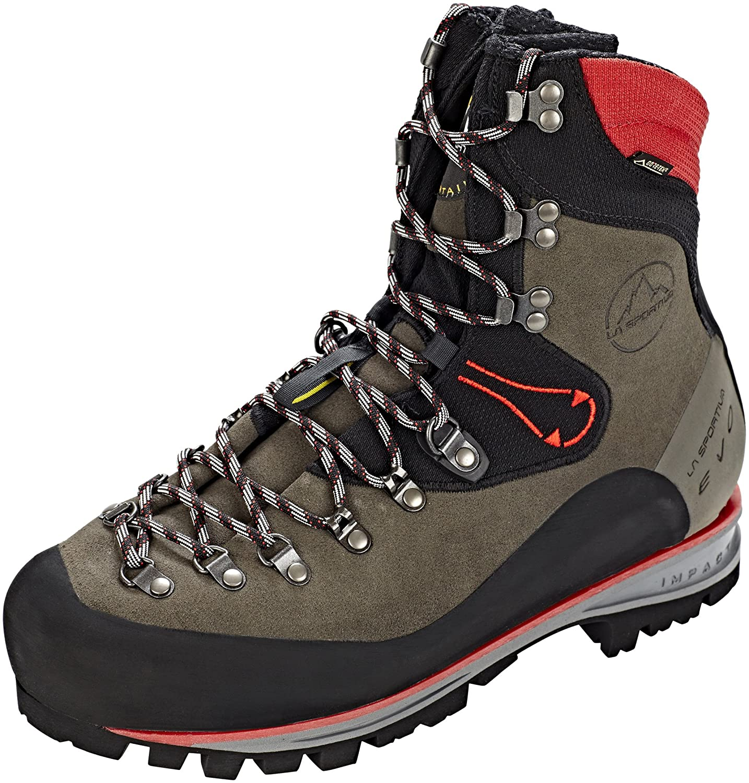 La Sportiva Unisex-Erwachsene Nepal Trek Evo GTX Anthracite rot Trekking-& Wanderstiefel