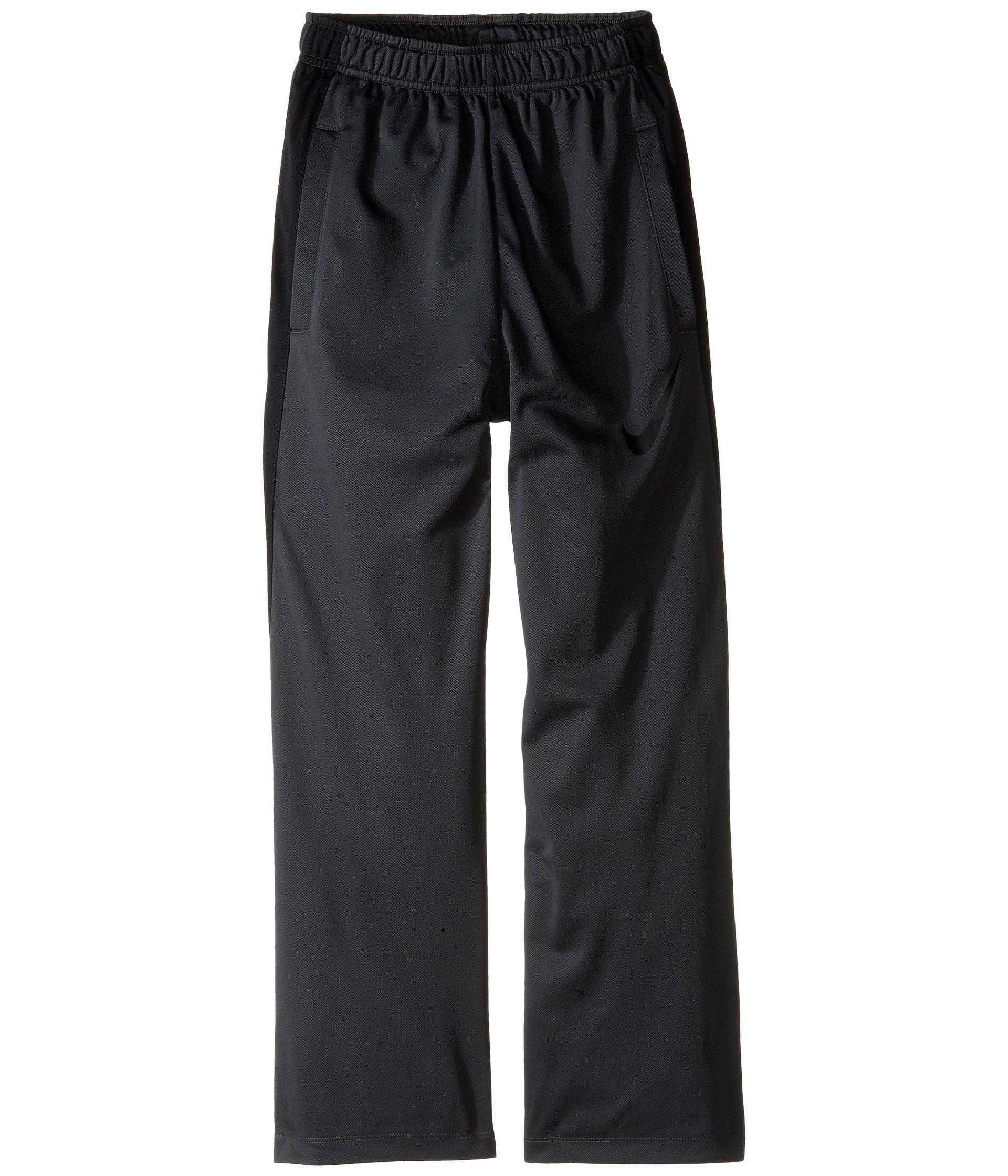 NIKE Boys' Dry Performance Knit Pants, Anthracite/Black/Black, X-Large
