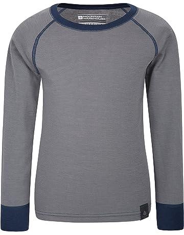 ae17de9bd62 Mountain Warehouse Merino Kids Round Neck Baselayer Top – Full Sleeves