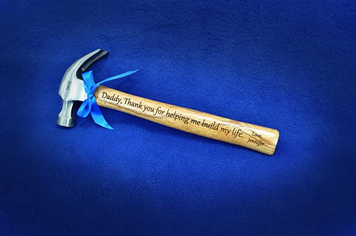 Amazon Engraved Hammer To Dad From Daughter To Father Of The