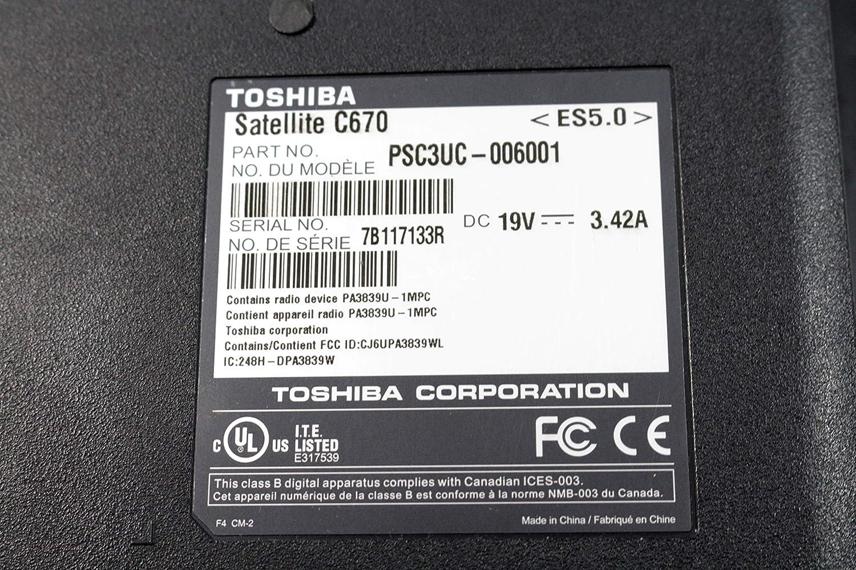 Satellite C670 L675D L675D-S7107 Laptop Bottom Case Black AP0CK000900 FA0K000100 E203549 K000099470 by EbidDealz