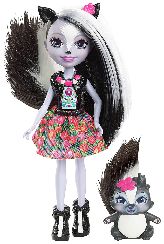 ab 4 Jahre Puppe Mattel GmbH empfohlenes Alter Enchantimals Mattel DYC75 Stinktiermädchen Sage Skunk