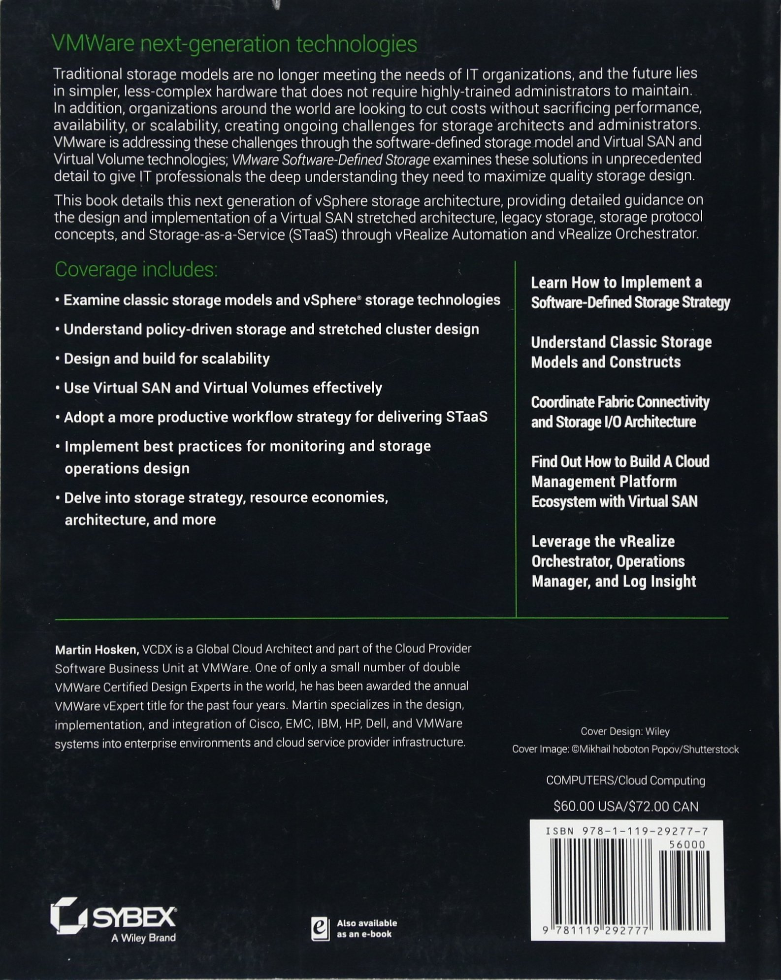 VMware Software-Defined Storage: A Design Guide to the