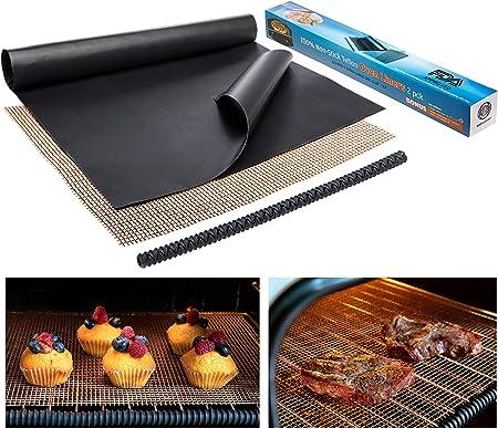 Amazon.com: Forro antiadherente para horno, resistente, 2 ...