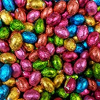 Solid Milk Chocolate Foil Easter Eggs x 500g (Approx 100 eggs), Easter Egg Hunts & Gifts