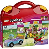 LEGO Juniors Cars 3 Mia's Farm Suitcase 10746 Playset Toy