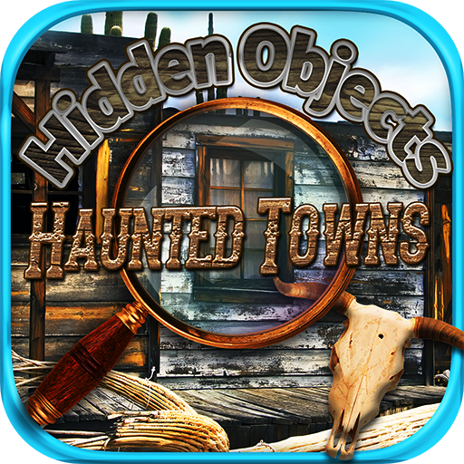 Hidden Objects - Haunted Mystery Towns & Secret Object Seek Find Puzzle Photo Game -