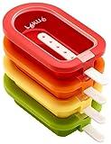 Lékué - Polos apilable, cuatro unidades, multicolor