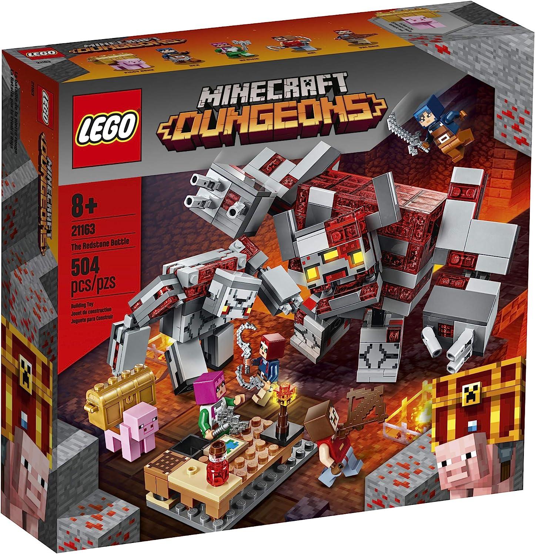 Lego Minecraft O Combate de Redstone 11