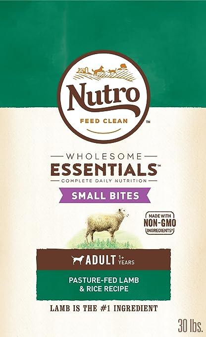 Amazoncom Nutro Wholesome Essentials Adult Dry Dog Food Small