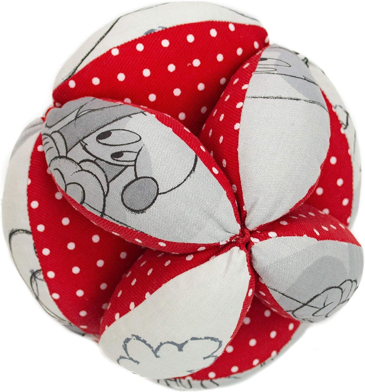 Borda y más Pelota Montessori de Tela para bebé. (Disney Comet ...
