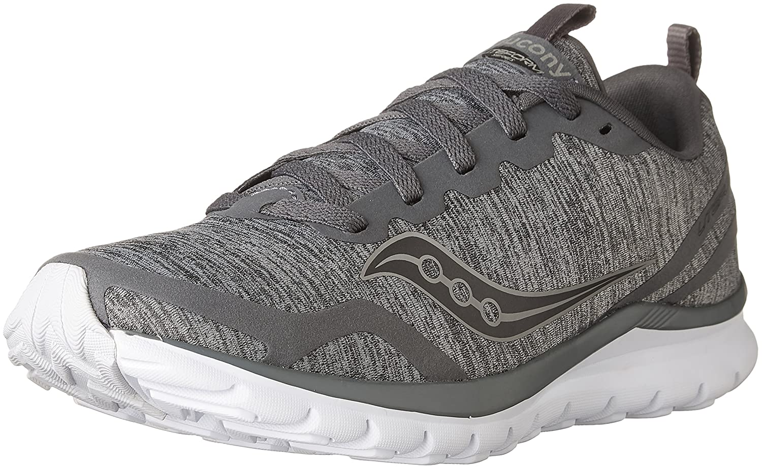 Saucony Women's Liteform Feel Running Shoe B071JNMJP1 8 B(M) US|Grey