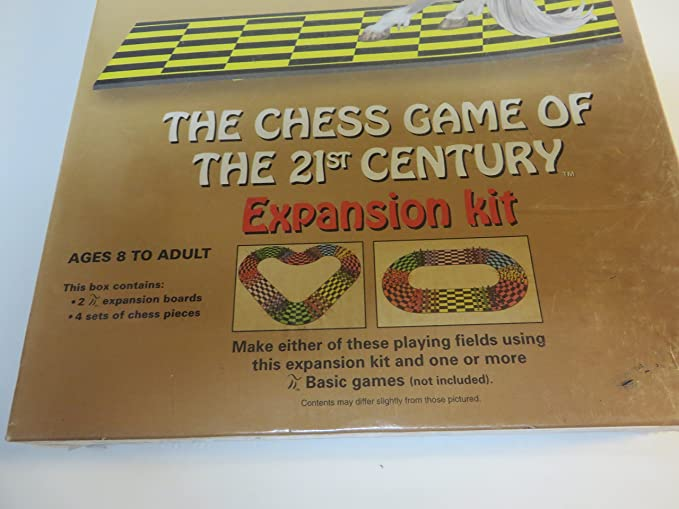 Amazon com: The Chess Game Of The 21st Century Expansion Kit: Toys