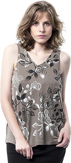 Mamatayoe Urca Camiseta sin Mangas para Mujer